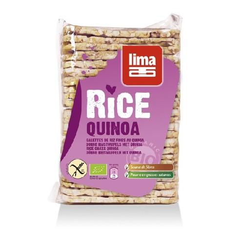 Rondele De Orez Expandat Cu Quinoa Bio 130gr Lima
