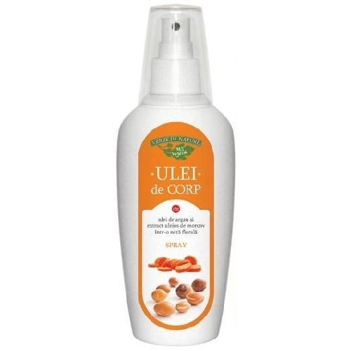 Ulei de Corp Spray Argan&Morcov 200ml Verre de Nature