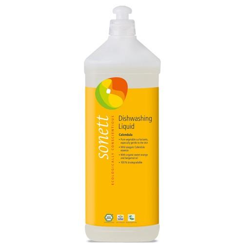 Detergent Ecologic Pentru Spalat Vase Cu Galbenele 1l Sonett