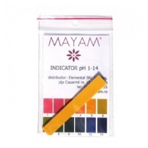 Indicator Ph Mayam 1-14ph