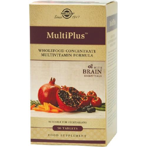 Multiplus Brain 90tab Solgar