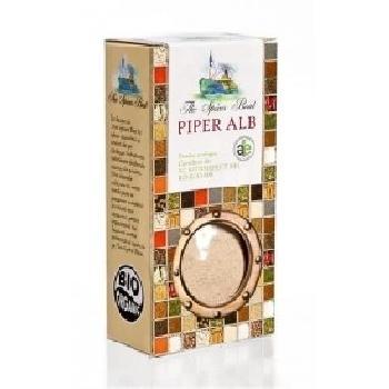 Condiment Piper Alb Macinat  50gr Longevita