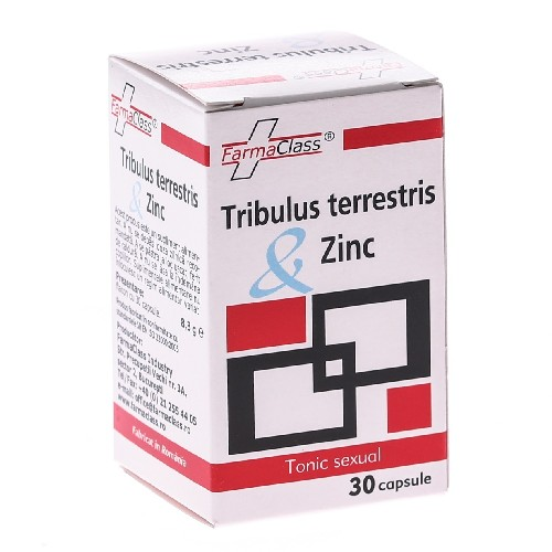 Tribulus Terrestris & Zinc 30cps Farma Class