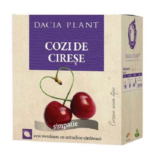Ceai Cozi de Cirese 50gr Dacia Plant