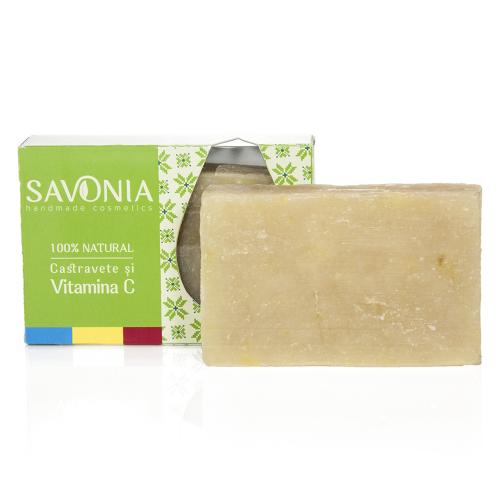 Sapun Castravete & Vitamina C 90gr Savonia