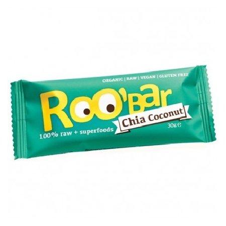 Baton Roobar Chia + Cocos 30gr Dragon Superfoods