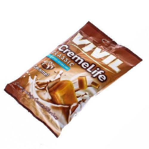 Vivil Creme Life cu Caramel Fara Zahar 110gr