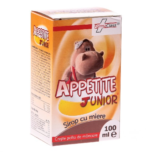 Apetite Junior Sirop 100ml Farma Class