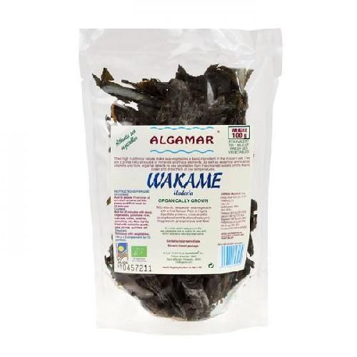 Alge Marine Wakame Bio 100gr  Algamar