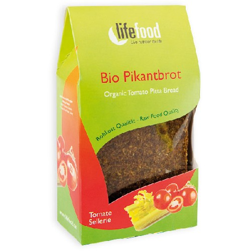 Paine Raw Cu Rosii Si Telina Bio 90gr Lifefood