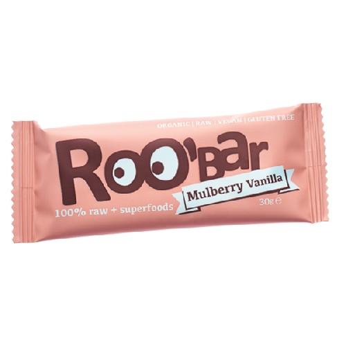 Baton Raw Bio cu Dude si Vanilie 30gr Roobar