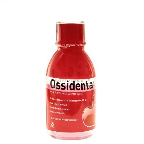 Apa de Gura Ossidenta Cirese + Menta 250ml Biofarm