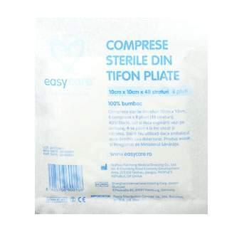 Comprese Sterile Pliate One Med