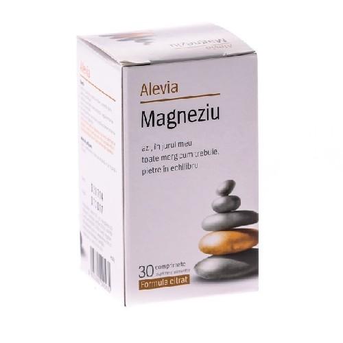 Magneziu 30cpr Formula Citrat Alevia