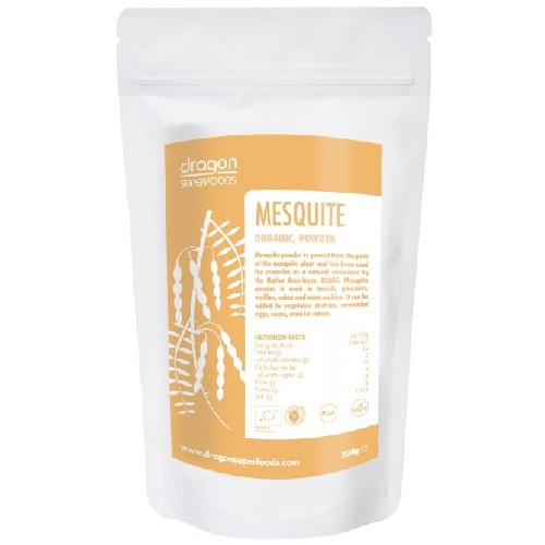 Mesquite Raw Bio 200gr Dragon Superfoods