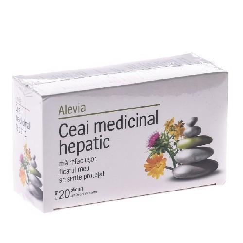 Ceai Medicinal Hepatic 20dz Alevia