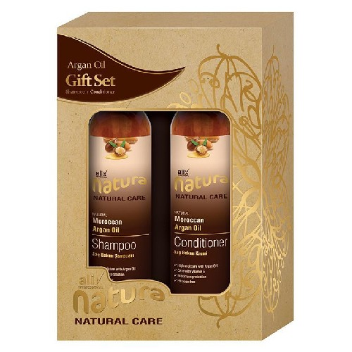 Set Argan Sampon 250ml + Balsam 250ml Alix