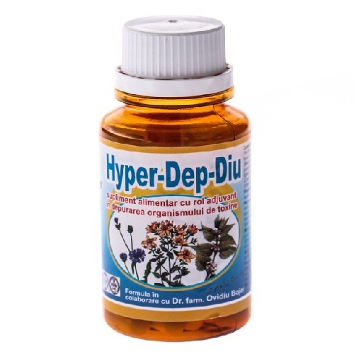 Hyper-dep-diu 60cps Hypericum