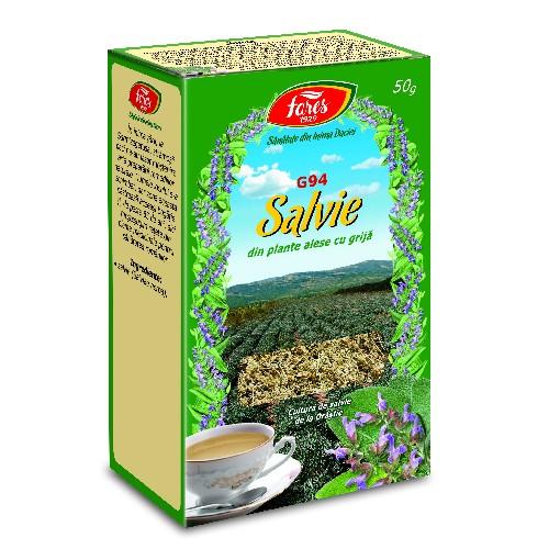 Ceai de Salvie 50gr Fares