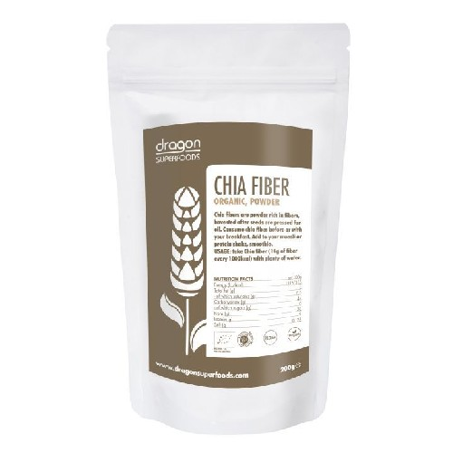 Chia Fibre Pulbere Raw Bio 200gr Dragon Superfoods