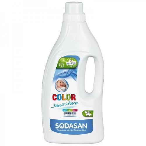 Detergent Eco Lichid pentru Rufe Albe si Colorate Sensitiv 1,5l
