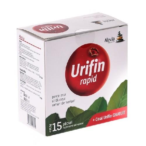 Set Urifin Rapid 15dz + Ceai Urifin 20dz Alevia