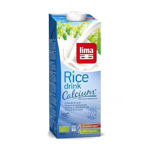 Lapte de Orez cu Calciu Bio 1l Lima
