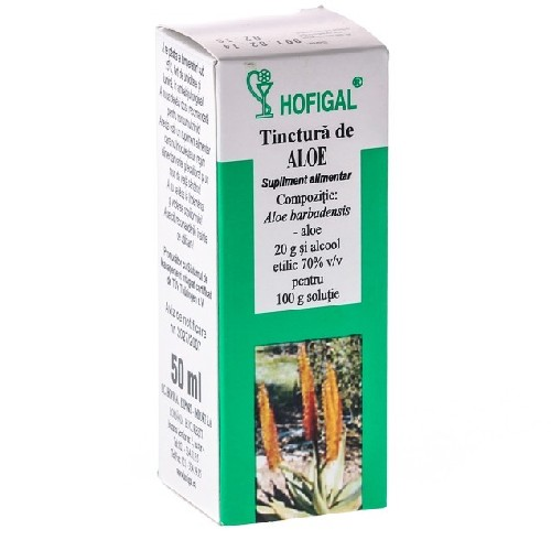 Tinctura Aloe 50ml Hofigal
