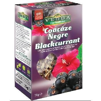 Ceai Fructe Coacaze Negre 75g Vedda