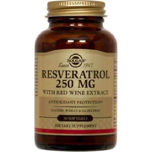 Resveratrol 250mg 30cps Solgar
