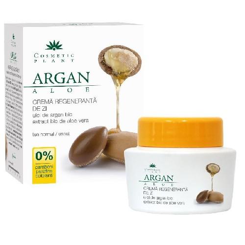 Crema Regeneratoare de zi cu ulei Argan & Aloe 50ml