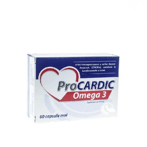 Procardic Omega 3 500mg 60cps Zdrovit