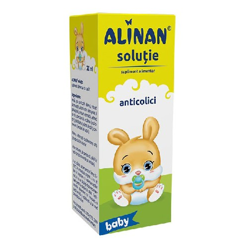 Alinan Happy (Solutie Anticolici) 20ml Fiterman