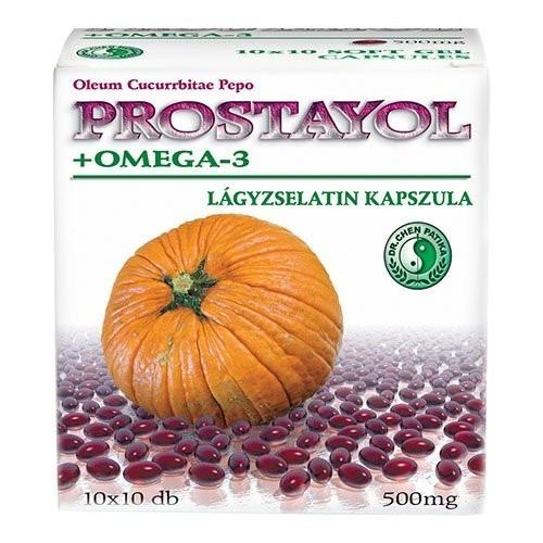 Prostayol + Omega 3 Dr.Chen 100cps