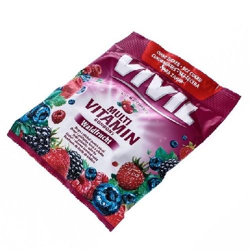 Vivil Multivitamine Fara Zahar 60gr -Aroma de Fructe de Padure