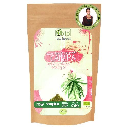 Proteina de Canepa Raw Bio 250gr Obio