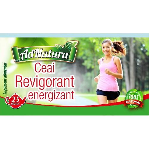 Ceai Revigorant Energizant 20plicuri Adserv