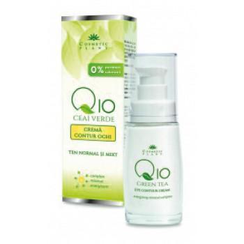 Crema Contur Ochi Q10+ceai Verde 30ml Cosmetic Pla
