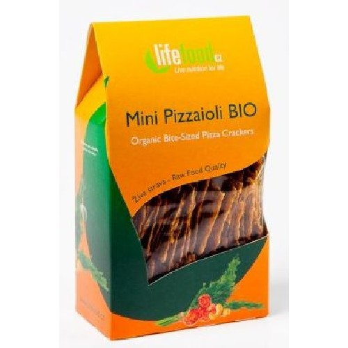 Crackers Pizza Raw Bio 70gr Lifefood