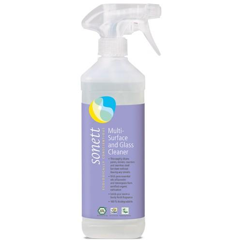 Detergent Ecologic Pentru Sticla Si Alte Suprafete 500ml Sonett