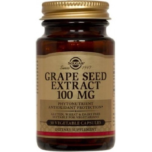 Grape Seed Extract 100mg 30cps Solgar