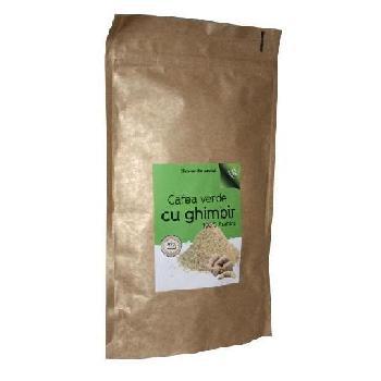 Cafea Verde Macinata Cu Ghimbir Phytopharm