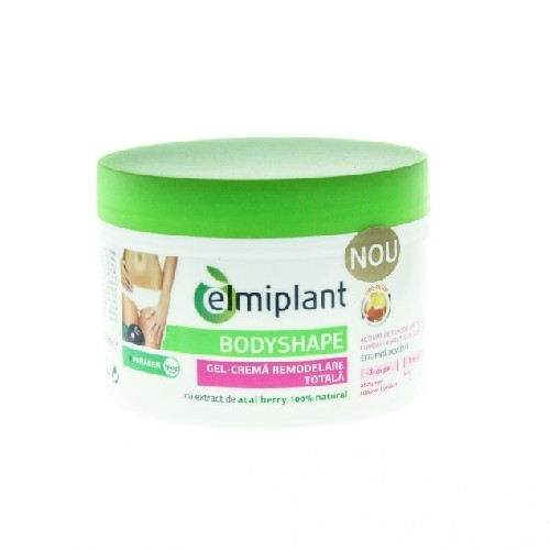 Bodyshape Gel Crema Remodelare Totala 200ml Elmiplant