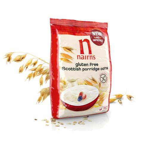 Porridge - Fulgi de Ovaz Integral Fara Gluten 450g Nairns