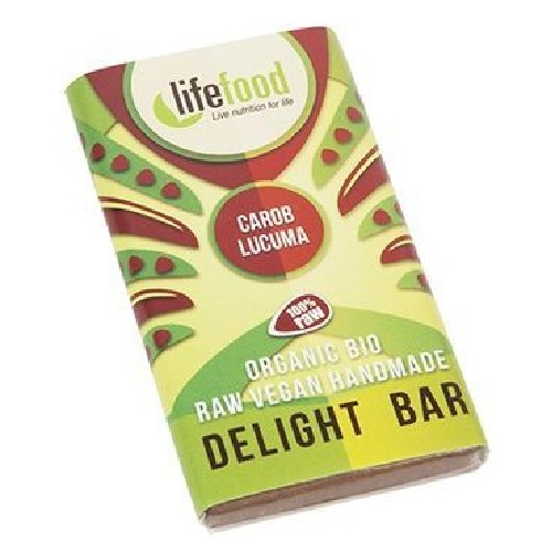 Ciocolata Mini Cu Lucuma Si Carob Raw Bio 15gr Lifefood