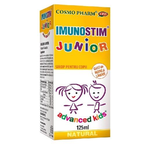 Advanced Kids Sirop ImunoStim pentru Copii 125ml CosmoPharm
