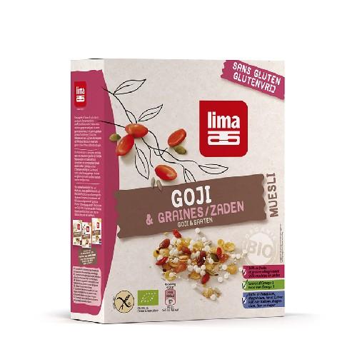 Muesli cu Goji Fara Gluten Bio 250gr Lima
