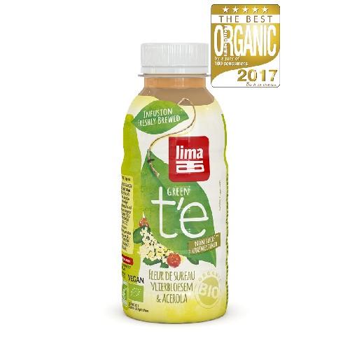 Ceai Verde cu Soc si Acerola Bio 330ml Lima