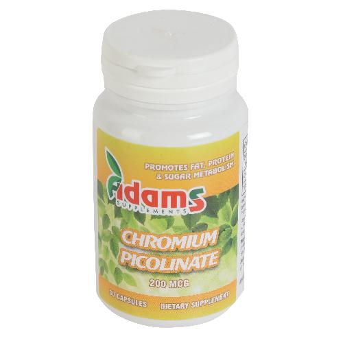 Crom Picolinat (Chromium Picolinate) 200mcg 30cps