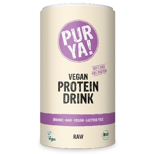 Vegan Protein Drink Raw Energy Bio 550gr Purya!
